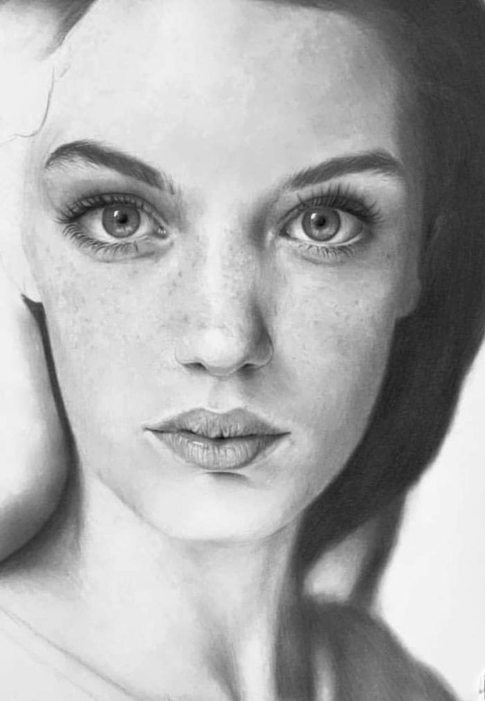 geniales ideas de dibujos de paisajes, dibujos realistas, fotos de retratos de mujeres, dibujos de paisajes, dibujos realistas