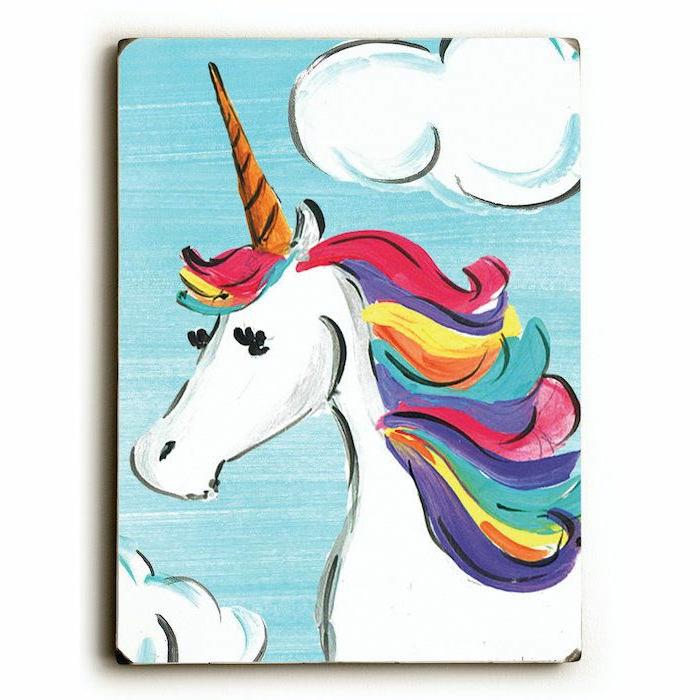 dibujos en acuarela originales y bonitos, ideas sobre como dibujar un unicornio paso a paso, fotos de dibujos chulos