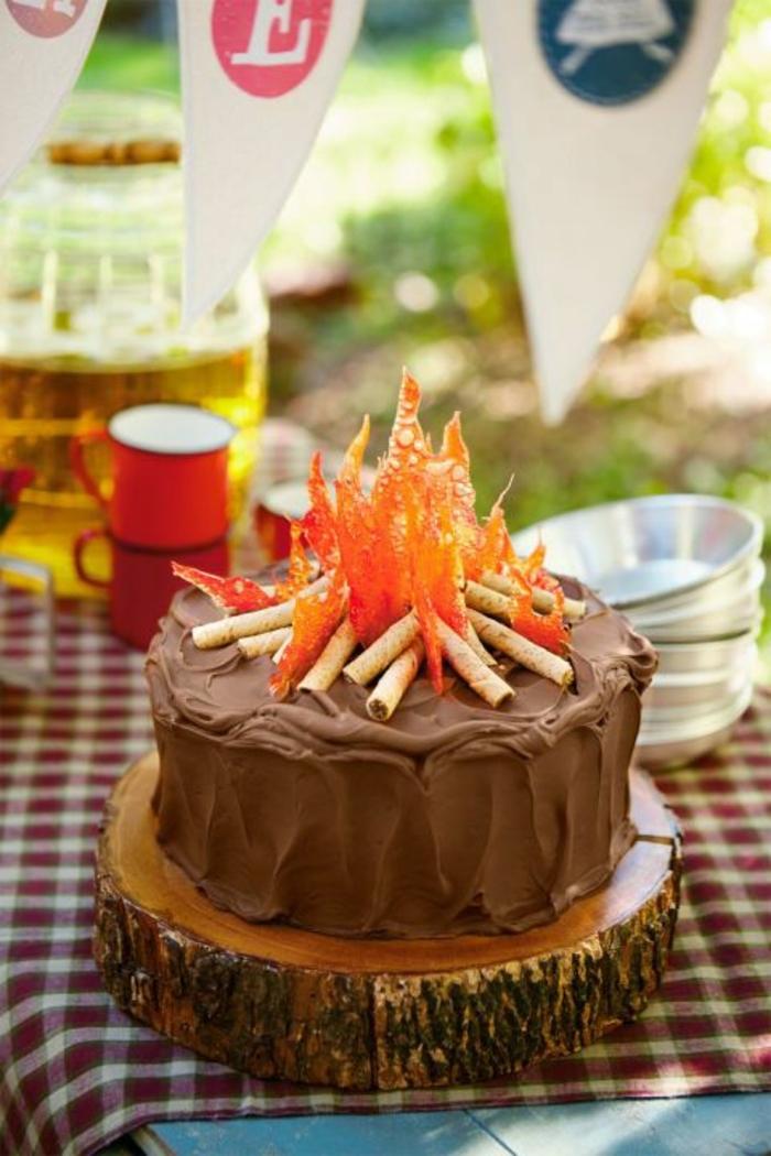 tarta de chocolate decorada con caramelo y galletas, fotos de tartas de cumpleañosfotos de tartas de cumpleaños, tartas de cumpleaños originales para adultos, imagenes de tartas de cumpleaños, tartas de cumpleaños caseras