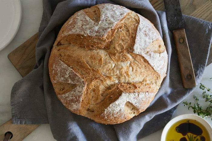 hacer pan con masa madre, como hacer pan casero facil, fotos de panes ricos, como hacer pan en el horno electrico