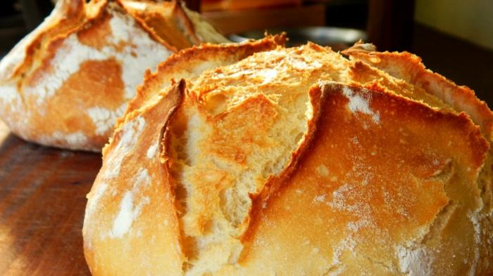hacer pan con masa madre, como hacer pan en el horno de casa, panes con levadura caseros, ideas sobre como hacer pan