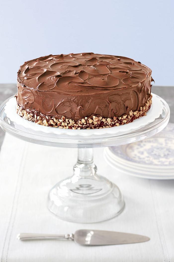 ricas ideas de tartas decoradas de una manera especial, fotos de tartas de chocolate decoradas con mucho encanto