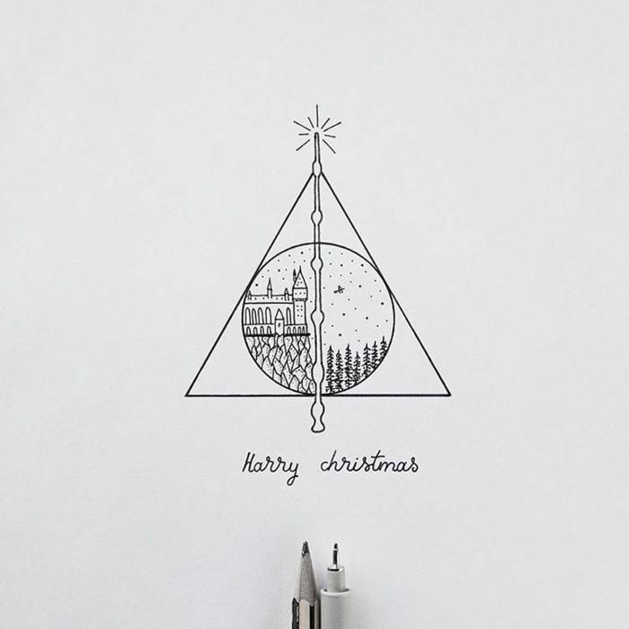 pequeños detalles que inspiran, dibujos de harry potter faciles y rapidos, dibujos de harry potter faciles, como dibujar a harry potter