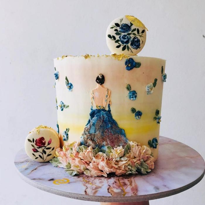 fenomenales ideas de tartas de cumpleaños originales para adultos, geniales ideas de tartas decoradas de manera profecional