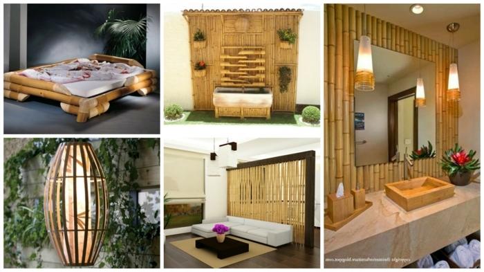 diferentes ideas de muebles hechos con bambu, el bambu como un material de construccion versatil y ressistente