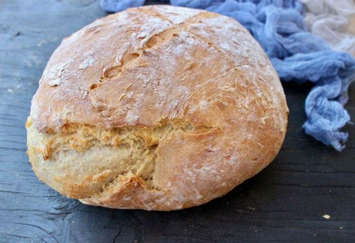 pan rico con corteza, ideas de recetas de pan sin levadura, hacer pan con masa madre, fotos de recetas de pan caseras