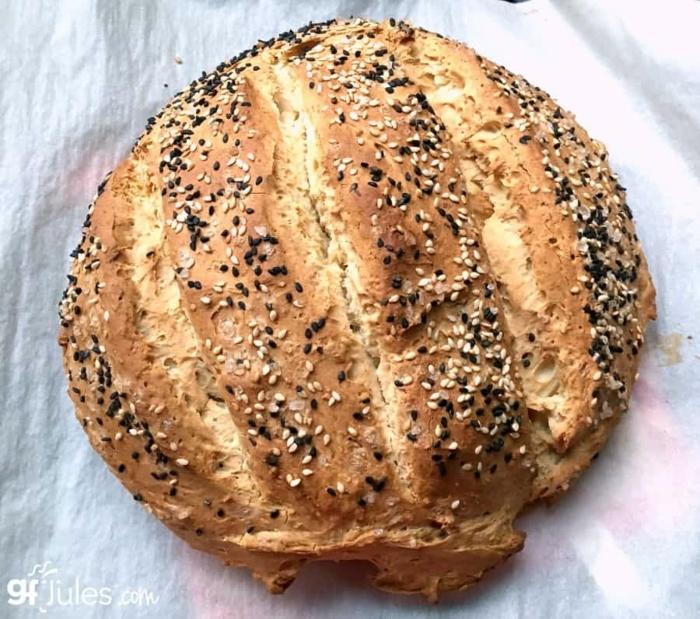 ideas sobre como hacer pan rico con corteza con semillas, pan sin levadura, hacer pan con masa madre, fotos de panes