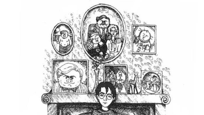 las mejores ideas de harry potter para dibujar, fotos de dibujos inspiradores para colorear, 70 ideas de dibujos magicos