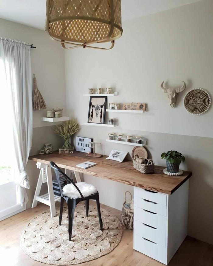 fotos de despachos decorados con mucho encanto, despacho en estilo rustico moderno, despachos modernos en imagenes