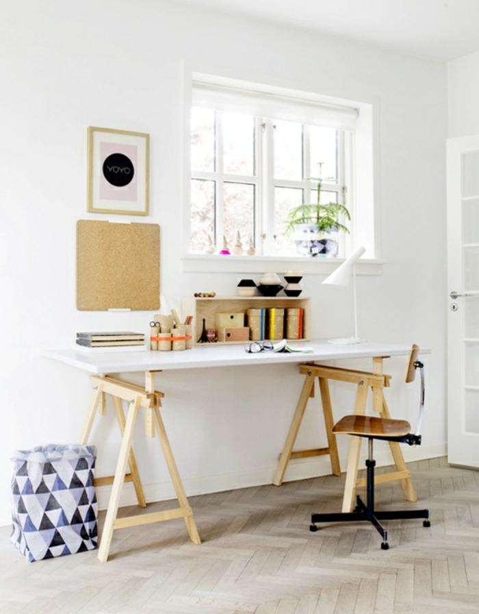geniales ideas sobre como decorar el despacho, despachos modernos y bonitos, imagenes de despachos en colores claros