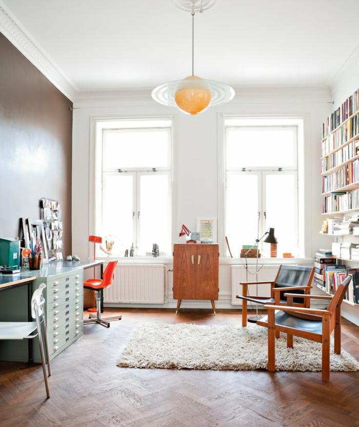 ideas sobre como amueblar tu salon para trabajar desde casa, despachos modernos, fotos con ideas sobre como organizar tu oficina