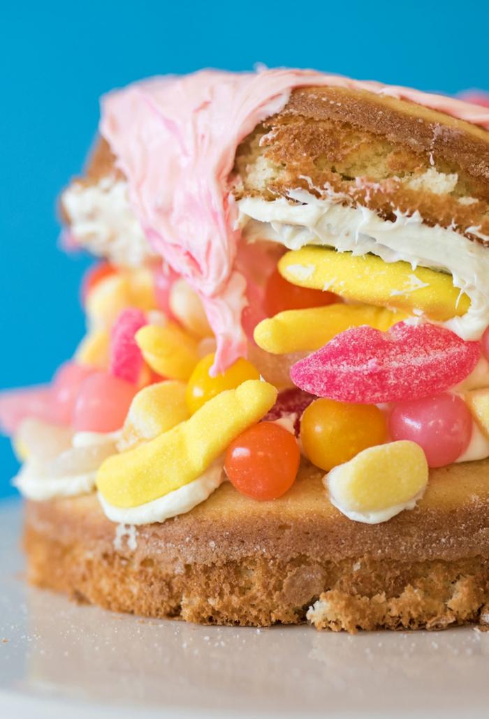 geniales ideas de tartas decoradas, ideas de tartas faciles para ni;os, tartas infantiles, fotos de tartas de cumpleaños