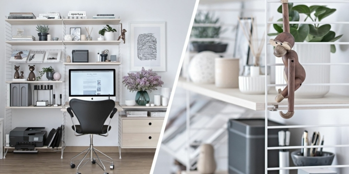 genailes ideas de muebles de oficina y detalles decorativos en fotos, ideas sobre como crear tu despacho en tu hogar