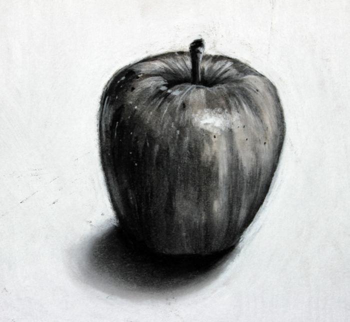 como dibujar una manzana paso a paso, dibujos de paisajes, dibujos realistas,fotos de dibujos originales