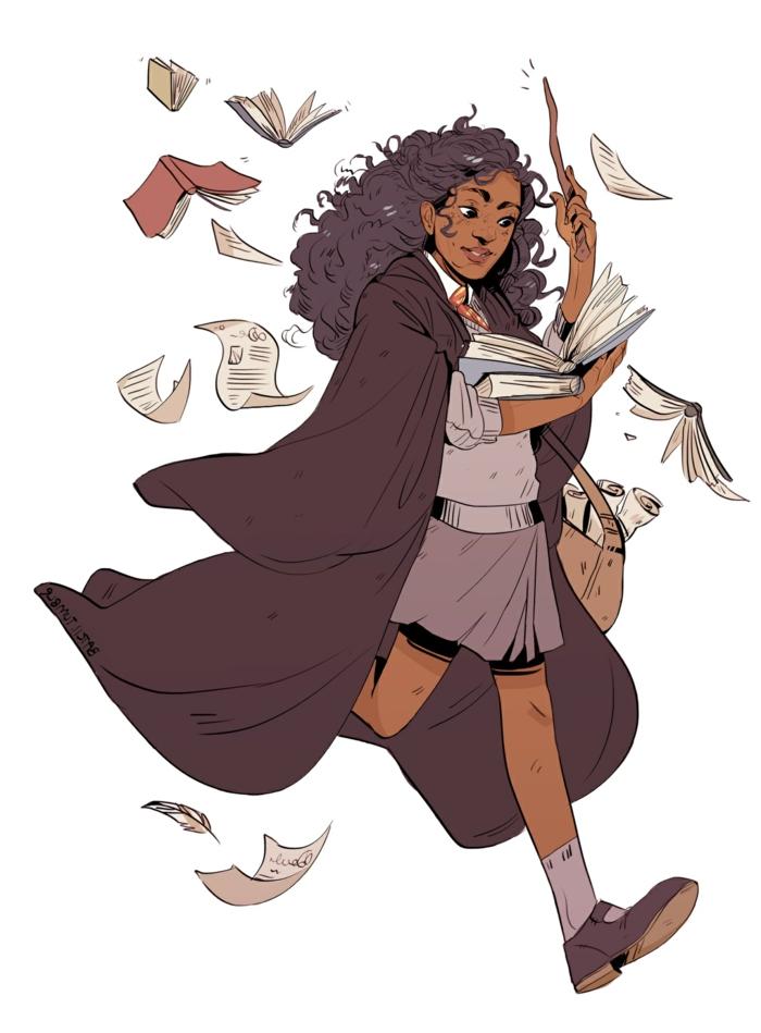 como dibujar a harry potter y sus amigos de la escuela de Hechicería y Magia Hogwarts, ideas de dibujos chulos en colores