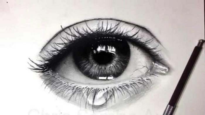 dibujos de ojos chulos, dibujos de paisajes, dibujos realistas, fotos con ideas de dibujos originales