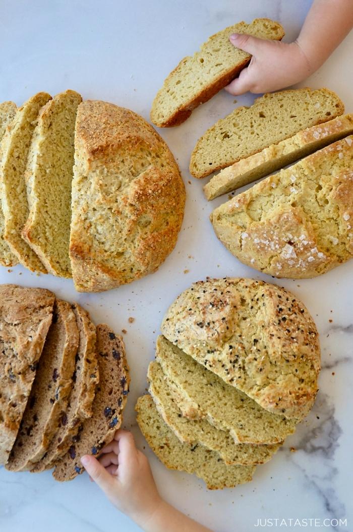 como hacer pan en el horno de casa, como hacer pan de harina de maiz, ideas de panes integrales saludables en fotos