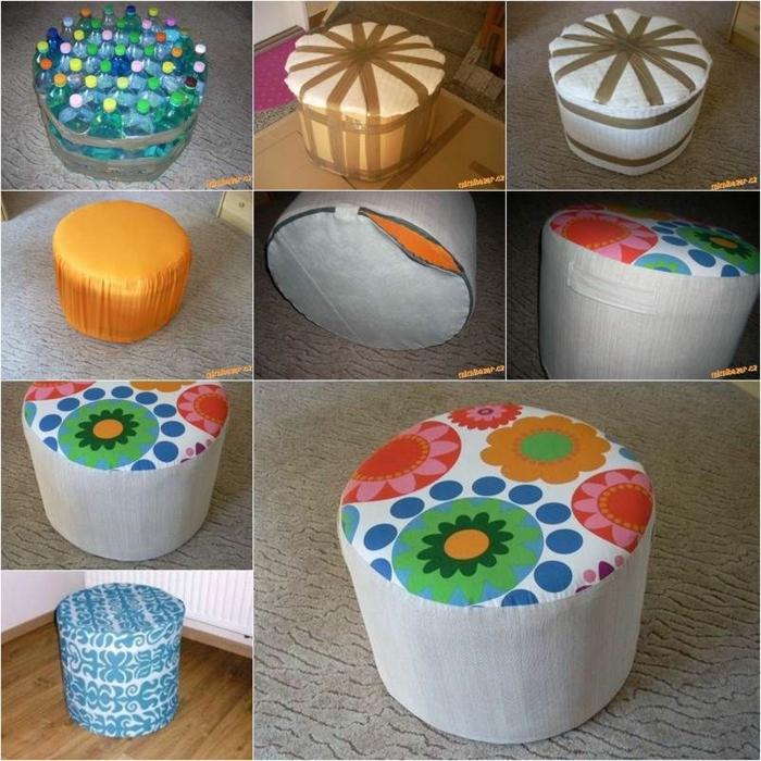 estupendas ideas sobre como hacer muebles de botellas plasticas recladas, ingeniosas ideas para reciclar botellas de plastico
