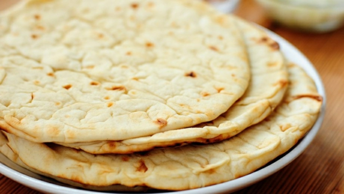 pan de pita rico y facil de preparar, ideas de recetas caseras faciles y rapidas, fotos de panes caseros faciles de hacer