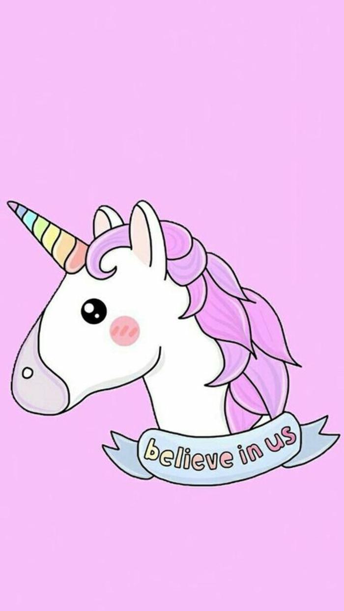 unicornio pintado en colores pastel, los mejores ejemplos de dibujos con unicornio chulos en colores, unicornios dibujos kawaii, dibujos de unicornios para pintar