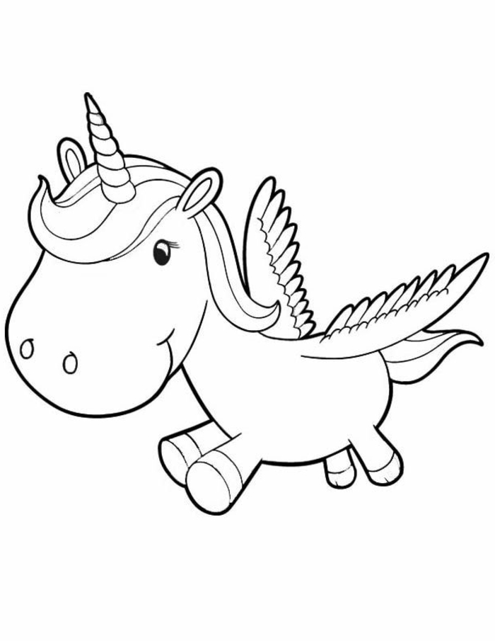 90 dibujos que puedes desacrar e imprimir, dibujos para colorear faciles y simpaticos, ideas de dibujos, unicornios dibujos kawaii, dibujos de unicornios para pintar