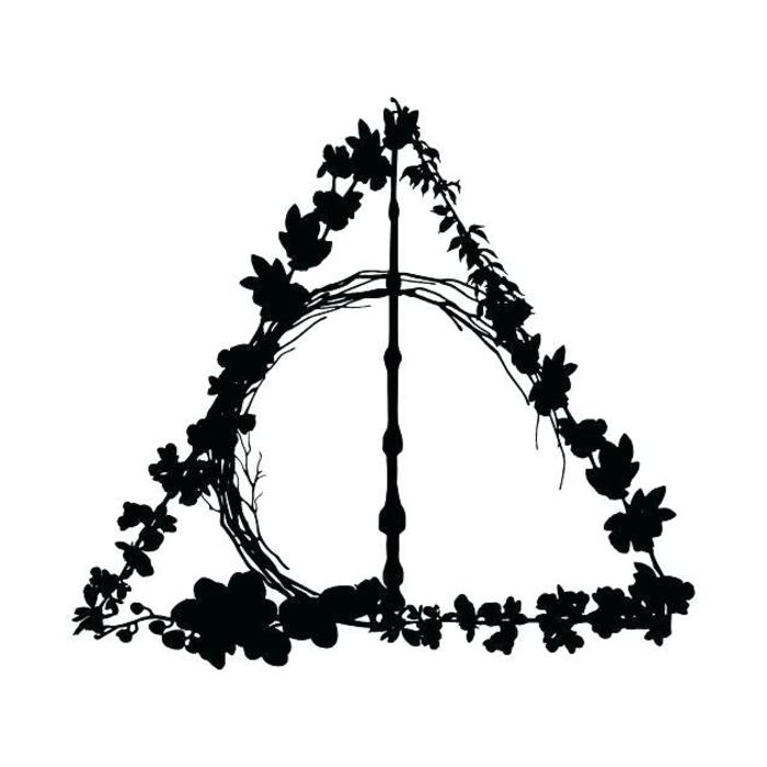 dibujos simbolicos y bonitos, fotos de dibujos de Harry Potter originales, geniales ideas de dibujos de harry potter originales
