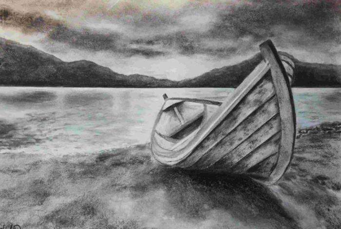 paisajes de naturaleza inspiradores, fotos de dibujos del mar, ideas de paisajes originales en dibujos
