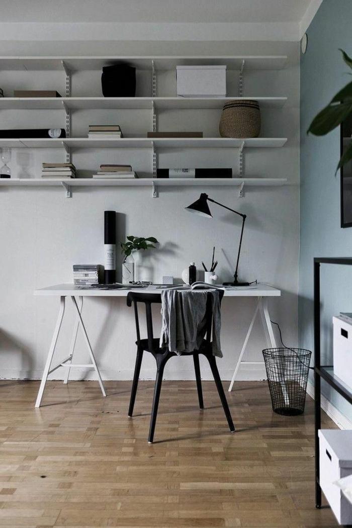 ideas para arreglar el espacio en tu despacho, muebles de oficina modernos y funcionales, oficina en casa paso a paso