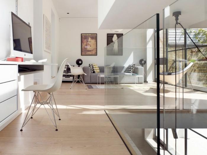 grande salon decorado en blanco y beige, ideas para decorar la casa en unos pasos sencillos, ideas para organizar la casa