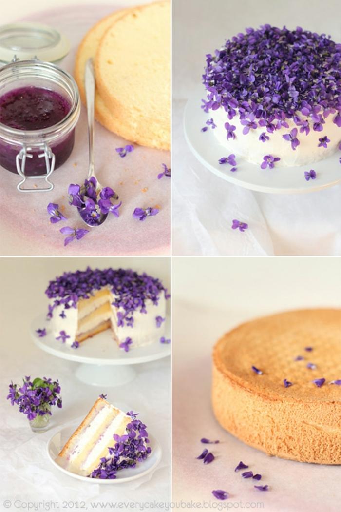 como decorar una tarta con glaseado blanco y flores comestibles, tartas infantiles, fotos de tartas de cumpleaños, tartas de cumpleaños originales para adultos, imagenes de tartas de cumpleaños, tartas de cumpleaños caseras