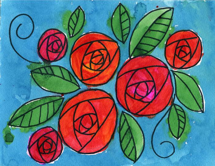 0 dibujos en colores ideas de dibujos de rosas a lapiz fotos de dibujos originales en colores vibrantes ideas de dibujos