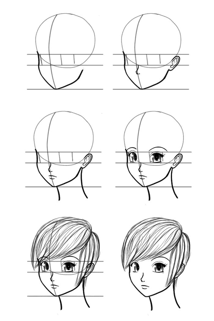 pasos para dibujar una cara, dibujos chulos con tutoriales paso a paso, como dibujar una cara, fotos de dibujos