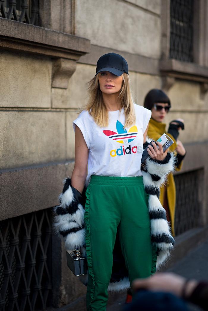 1 como vestirse como una chica tumblr prendas deportivas sudaderas tumblr camiseta adidas