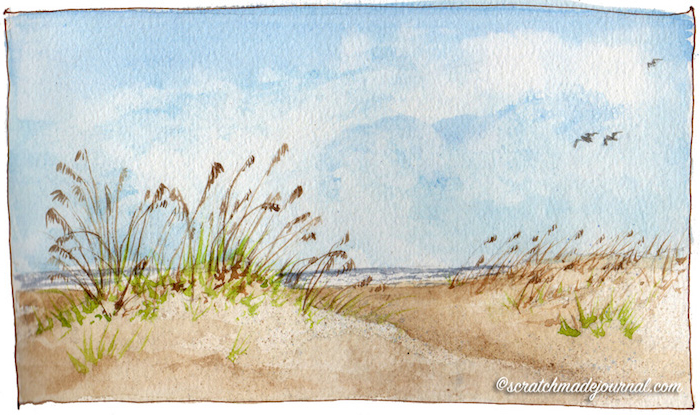 2 dibujos del mar que enamoran playa arena mar ideas de dibujos en bonitos colores
