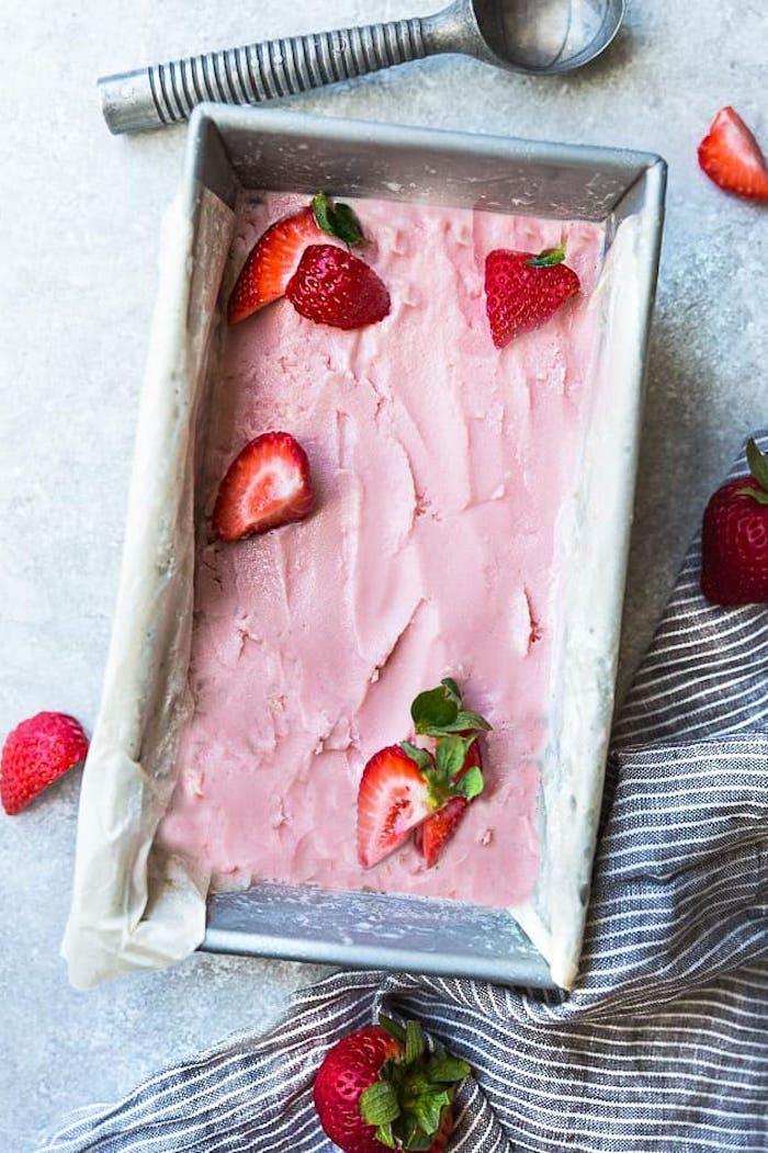 2 fresas helado sin lactosa las mejores ideas sobre como hacer helado saludable y rico postres con frutas