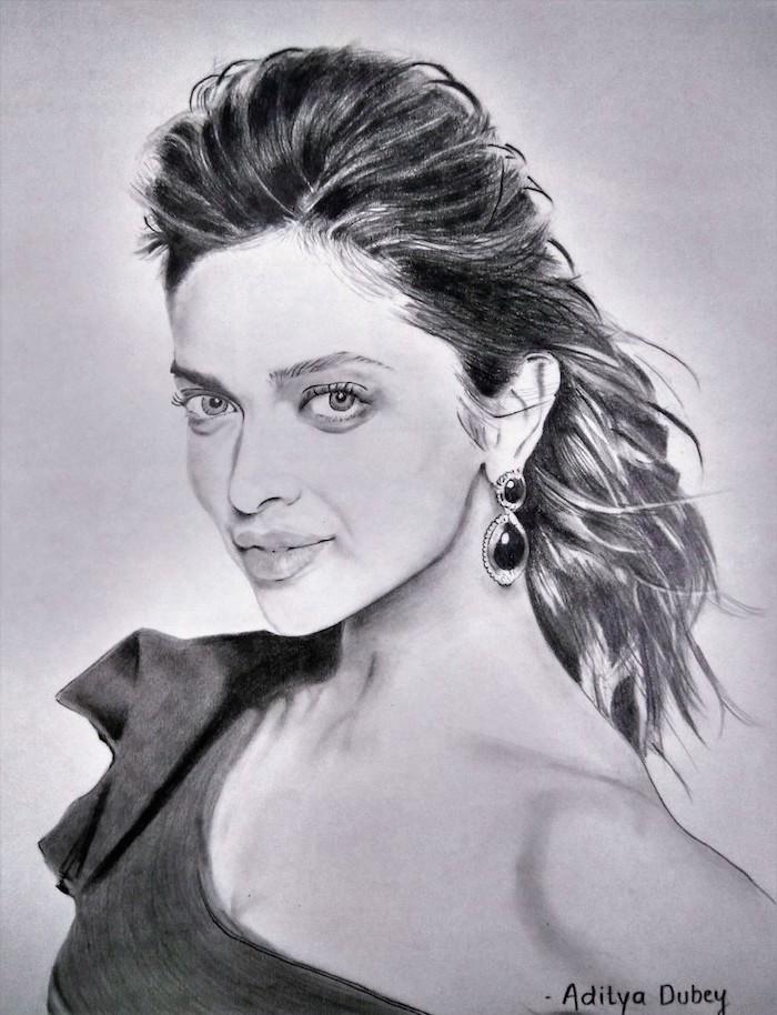 geniales ideas sobre como dibujar la cara de una mujer, como dibujar una cara de mujer, ideas de dibujos de mujeres