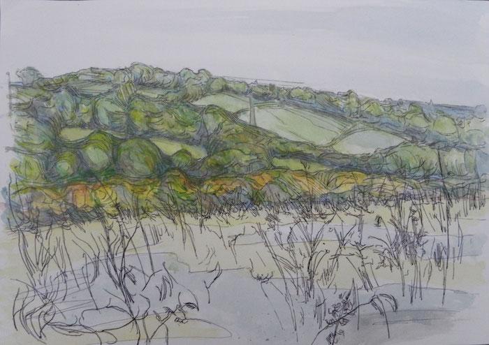 a dibujar un paisaje montañoso v dibujos que inspiran fotos de dibujos de montañas para descargar