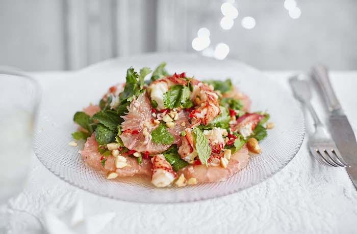 a preparar ensaladas rucas y vitanimosas como entrante ideas de ensalads con frutas y verduras