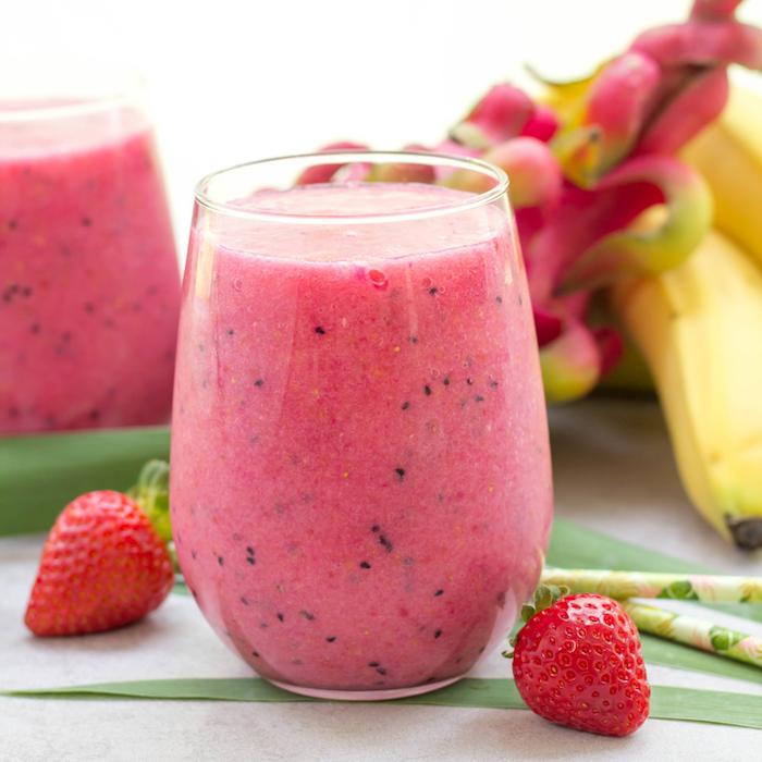 saludables alternativas a los batidos de frutas, ideas de recetas caseras para un desayuno sano y rico, fotos con recetas