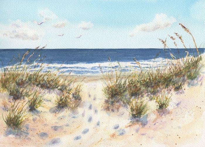 adorables dibujos del mar fotos de dibujos de cosas de la naturaleza olas del mar arena plantas verdes ideas de dibujos