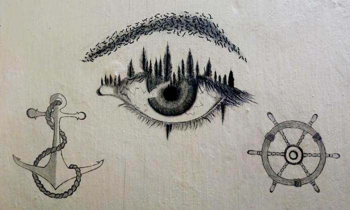 alucinantes ideas de dibujos abstractos, ideas de dibujos chulos en blanco y negro, fotos de dibujos originales y bonitos