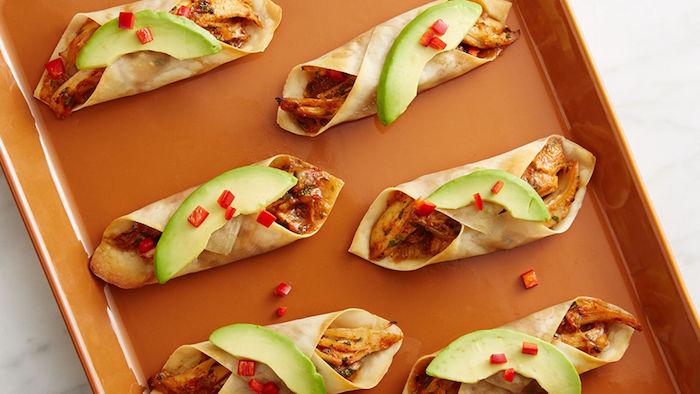 aguacate mini enchiladas ideas de aperitivos y entrantes faciles de hacer fotos de entrantes