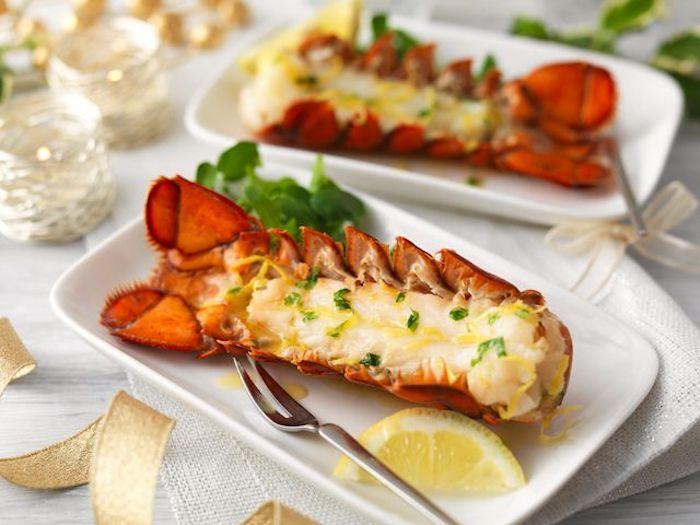 alucinantes ideas de canapés faciles y vistosos fotos de entrantes con mariscos recetas paso a paso
