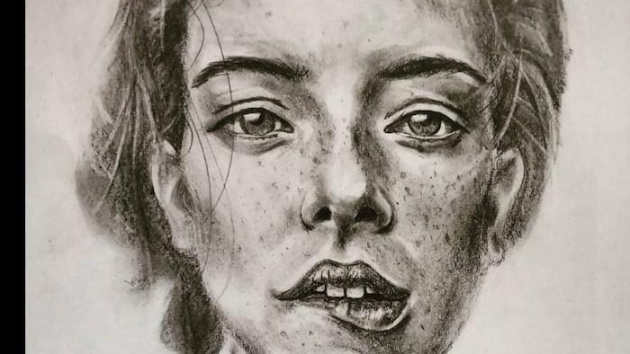 geniales ideas de dibujos chulos de mujeres, ideas sobre como dibujar una cara de mujer paso a paso, ideas de dibujos