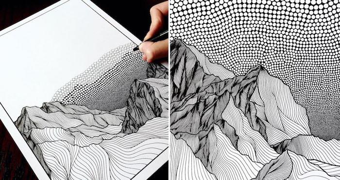 alucinantes ideas sobre como dibujar cosas de naturaleza fotos de dibujos en blanco y negro ideas de dibujos