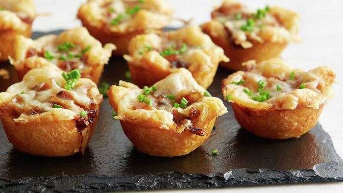 aperitivos mini empanadas de hojaldre0mini tartaletas ideas de recetas de aperitivos y entrantes