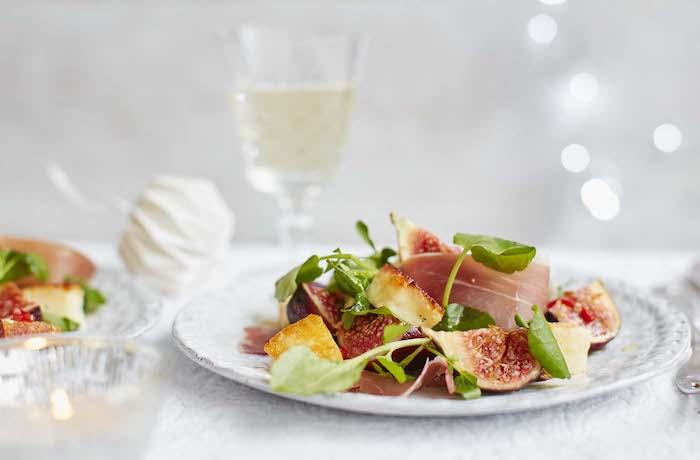 aperitivos y entrantes saludables salmon higos verduras recetas cenas originales ideas de recetas originales y elegantes