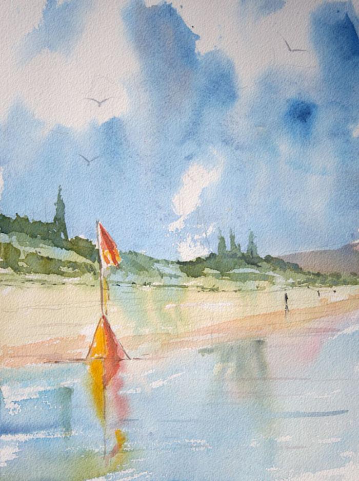 aprender a dibujar paisajes del mar paisajes bonitos para dibujar fotos de paisajes que enamoran dibujos con acuarelas