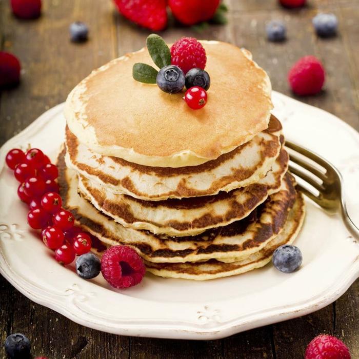 desayunos saludables y ricos, ideas de recetas caseras de panqueques, como hacer tortitas americanas paso a paso en fotos