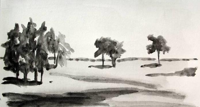 arboles dibujos en blanco y negro paisajes dibujos a lapiz ideas de dibujos faciles de hacer tecnicas de dibujos